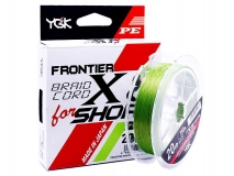 Шнур YGK Frontier Braid Cord X8 for Shore #1.5 (0,205 мм), 150 м (зеленый)
