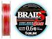 Шнур Sunline Super Braid 5 (8-strands) #0.6 (0,128 мм), 200 м